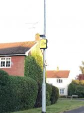 New dual ANPR and speed enforcement camera installed