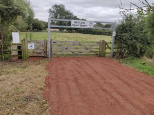 Mill Lane Dog Exercise Area NOW OPEN