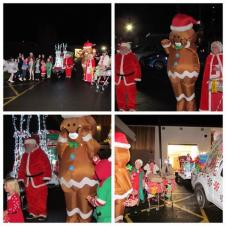 Santa's last night of his tour of Glenfield - Friday 18th December 2020
